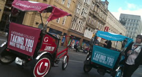 Promotional Rickshaws